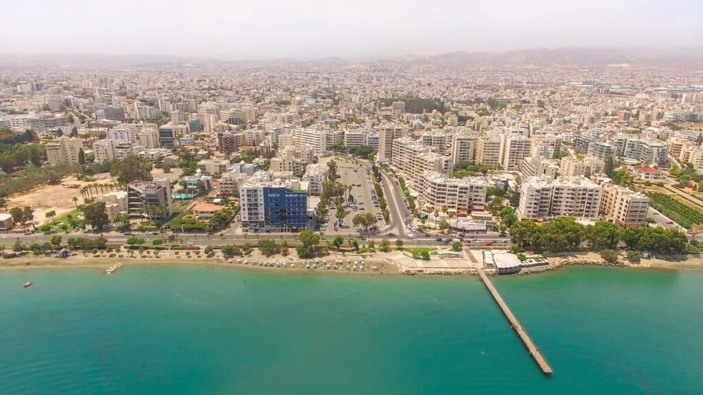 Limassol city in Cyprus